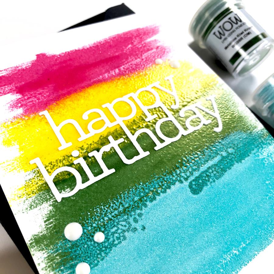 CZ Design Happy Birthday Die
