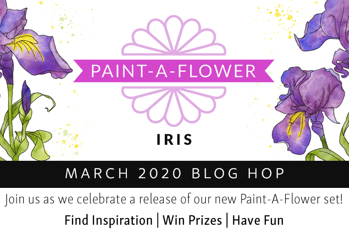 Altenew Paint-a-Flower: Iris Hop