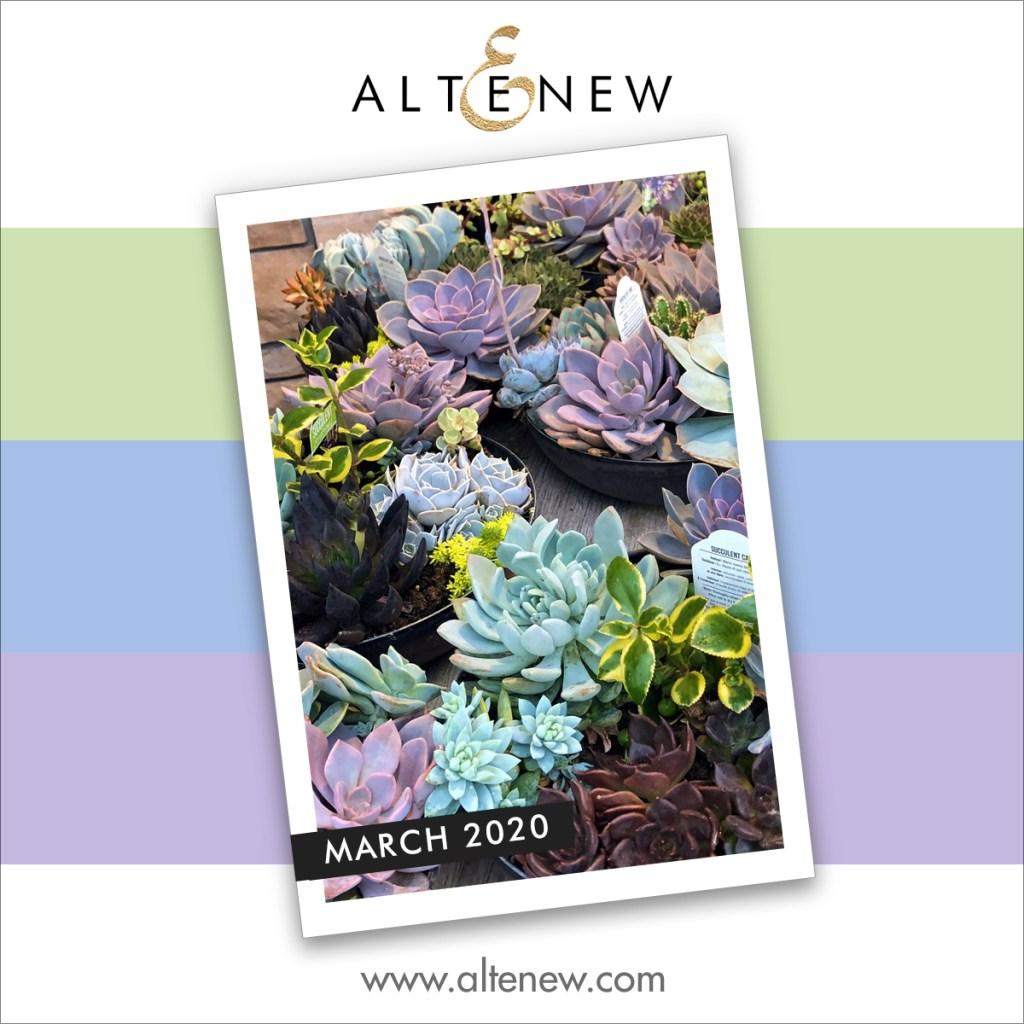 Altenew Inspiration Challenge March 2020
