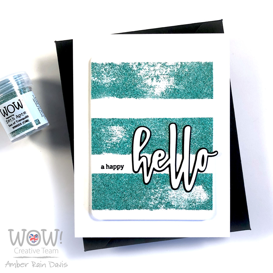 Sea of Tranquility Embossing Powder | WOW! Trio Cosmic
