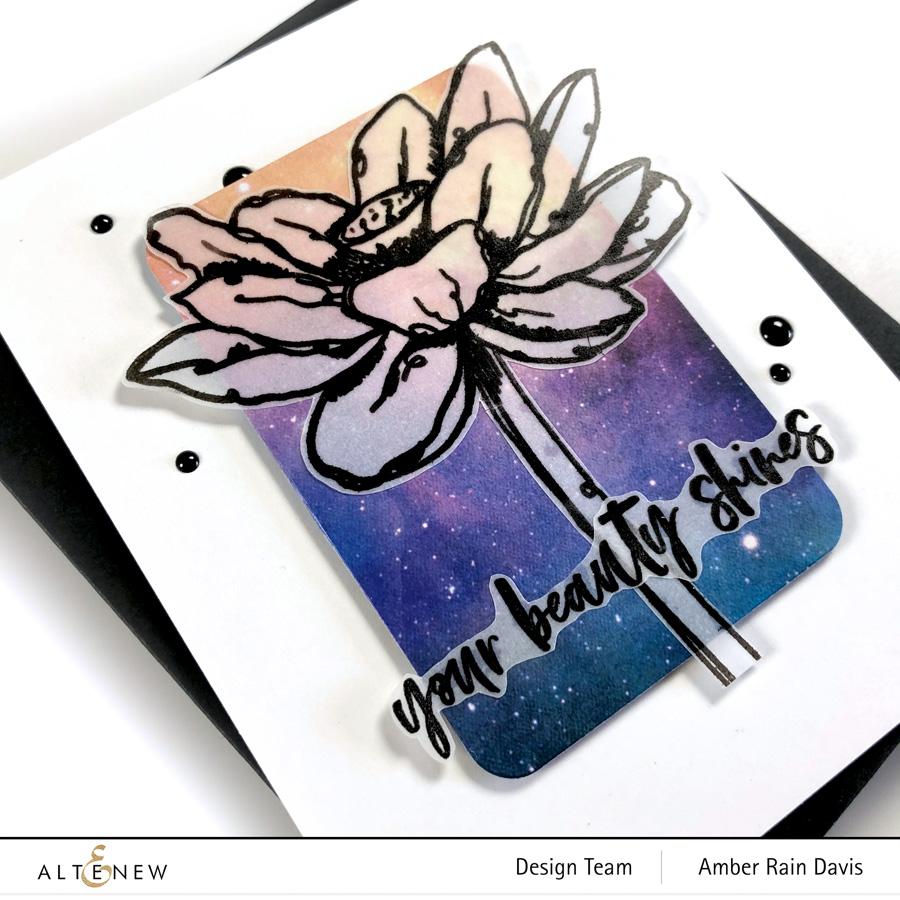 Altenew Inked Lotus & Celestial paper Pack