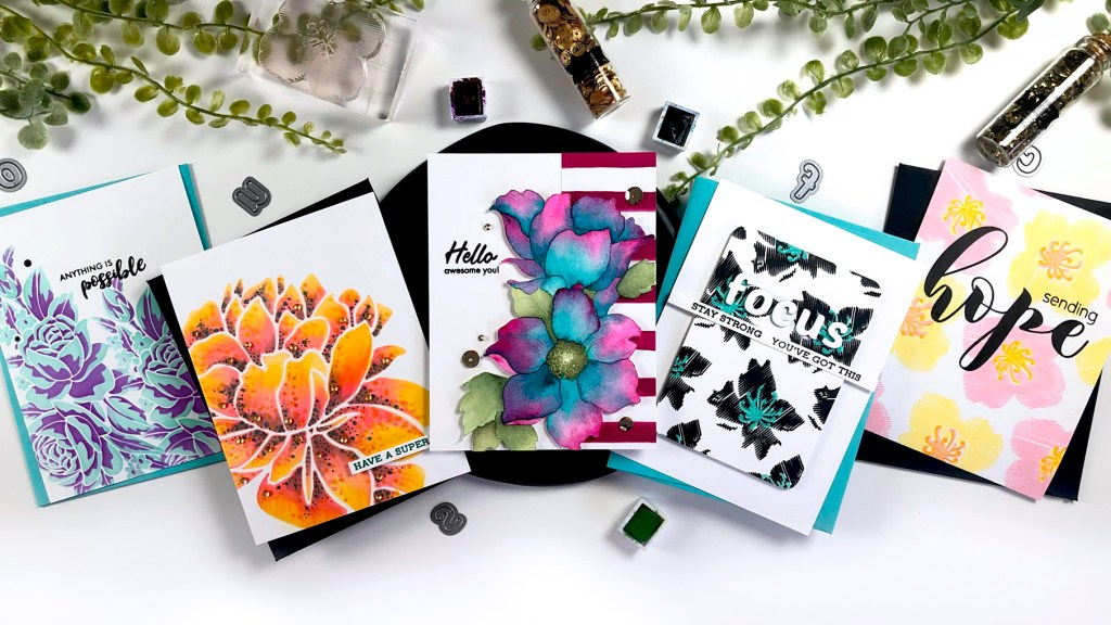 Altenew Floral Stamps & Stencils You Can't Miss