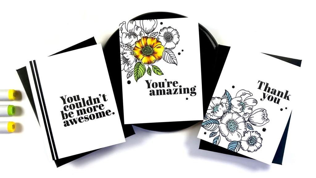 Simon Says Stamp Thankful Flowers Stamp Set #sssunitedwecraft #simonsaysstamp