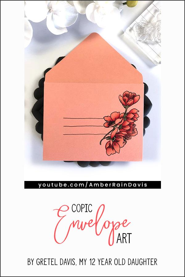 PINTEREST   Copic Envelope Art by Gretel Davis
