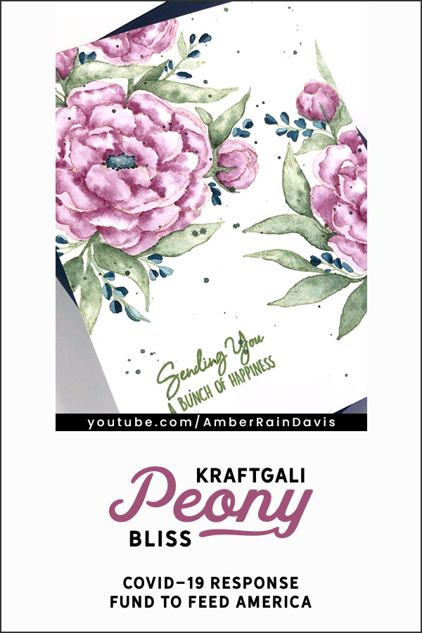 PINTEREST | Kraftgali Peony Bliss COVID-19