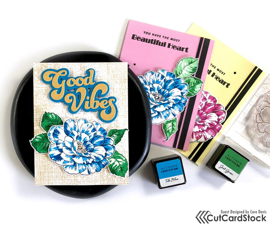 Layer Stamp Basics by Cora Davis