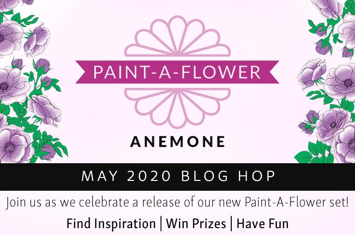Altenew Paint-A-Flower: Anemone