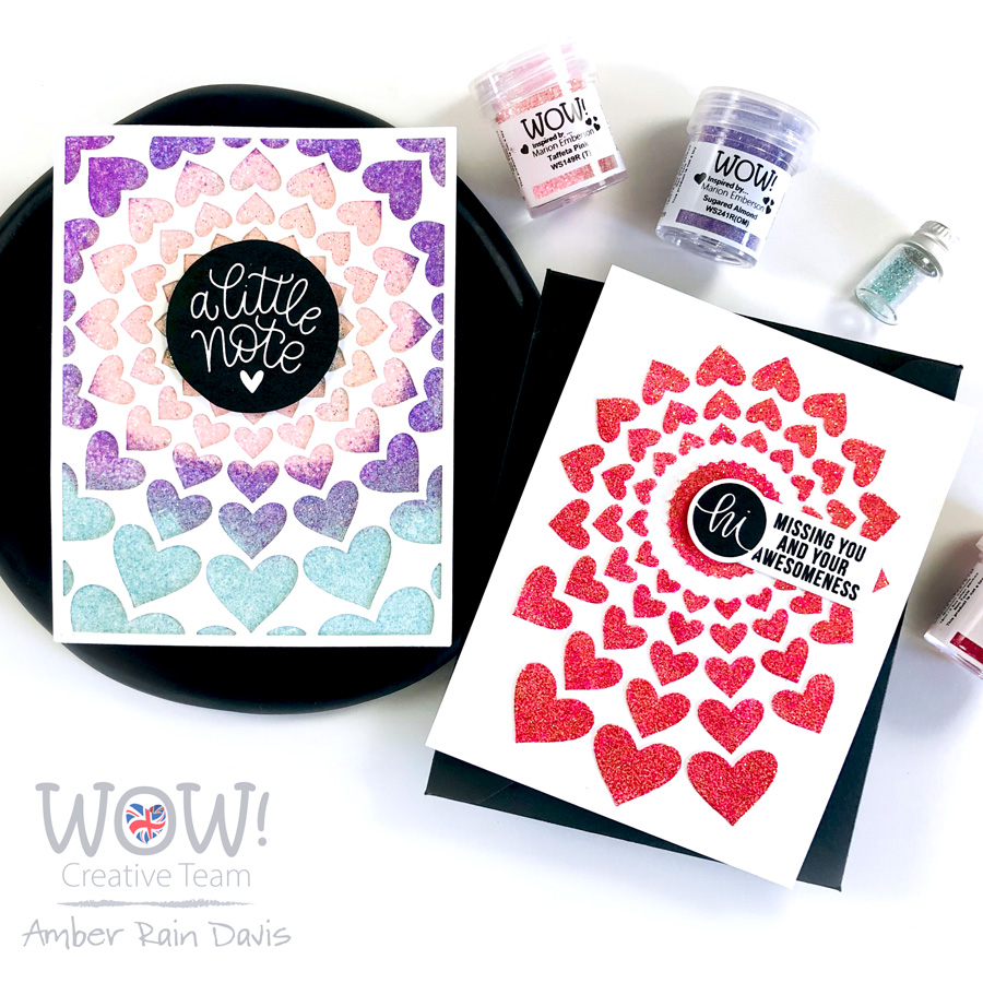 Rad Radial Hearts | WOW! & Altenew