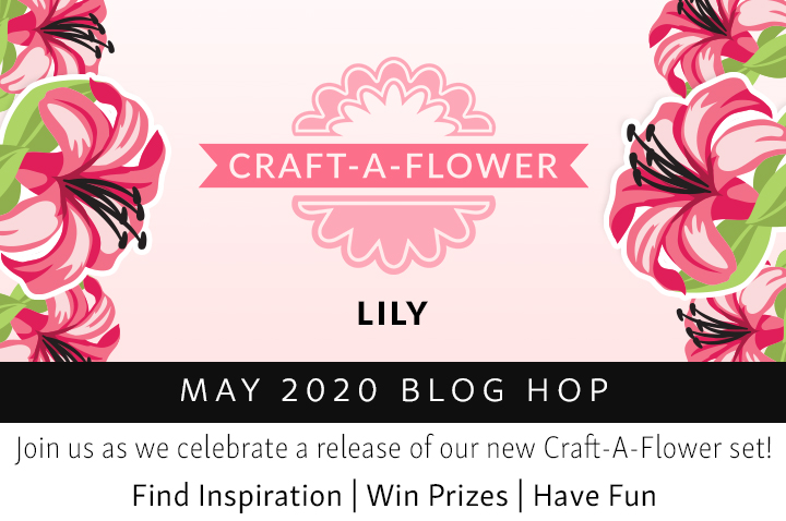 3D Layering Die Hacks   Altenew Craft-A-Flower: Lily