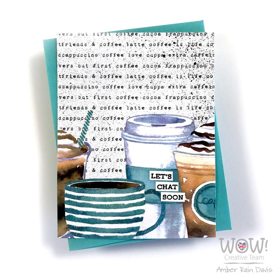 Graciellie Coffee Lovers Digital Patterned Papers   Coffee Lovers Hop