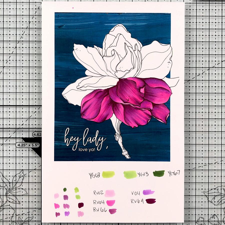Alex Syberia Sweet Gardenia Digital Stamp