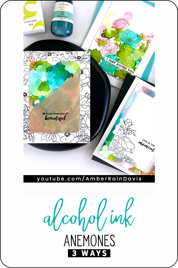 PINTEREST | Alcohol Ink Anemone 3 Ways
