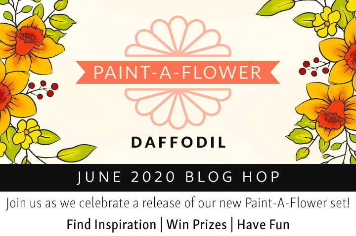 Altenew Paint-A-Flower: Daffodil
