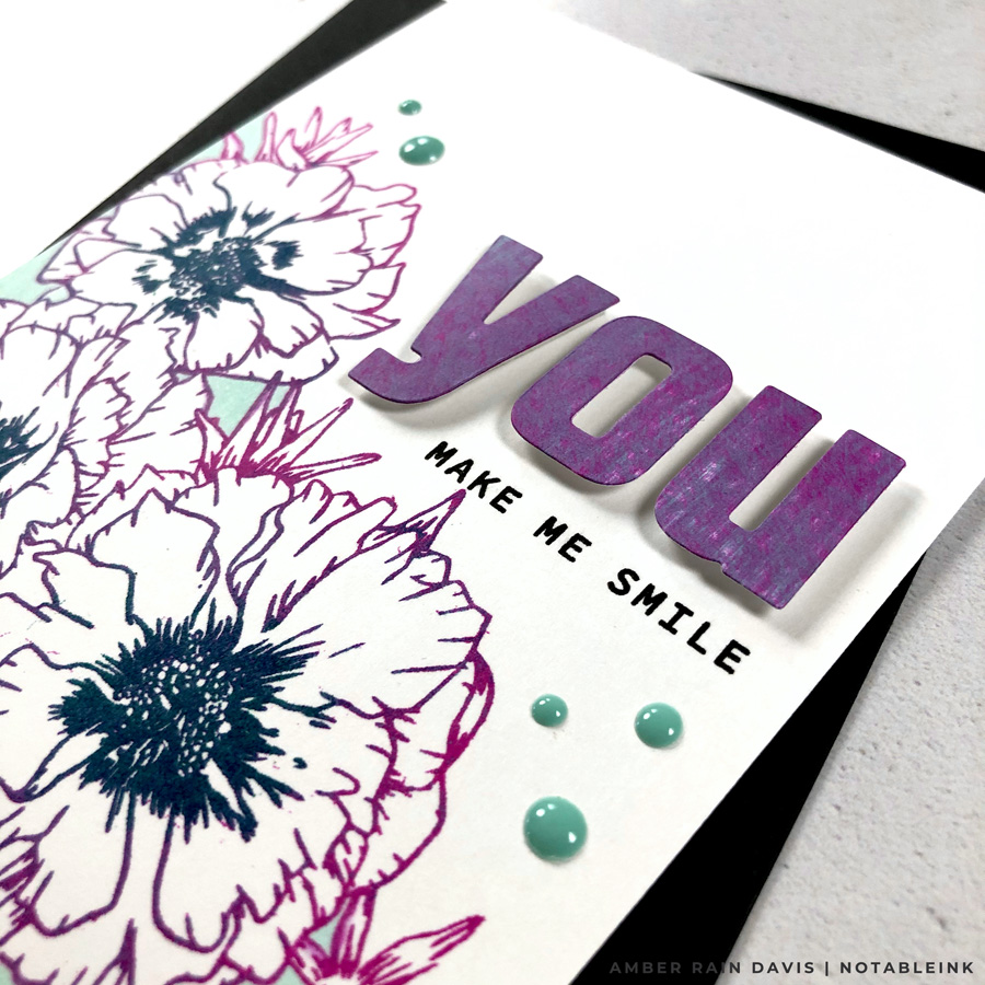 5th Way to Color Cards | Direct Ink to Paper