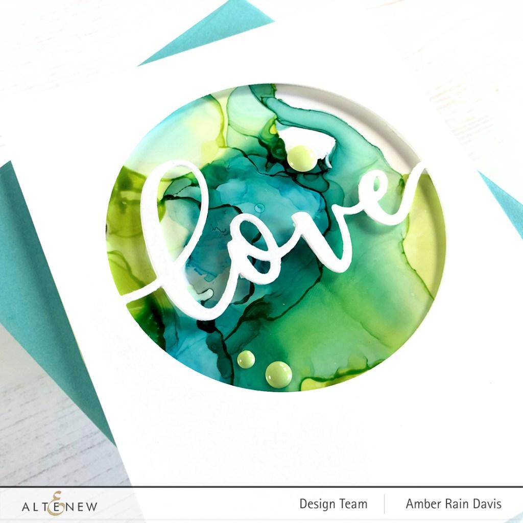 Altenew Circled Greetings: Love Die