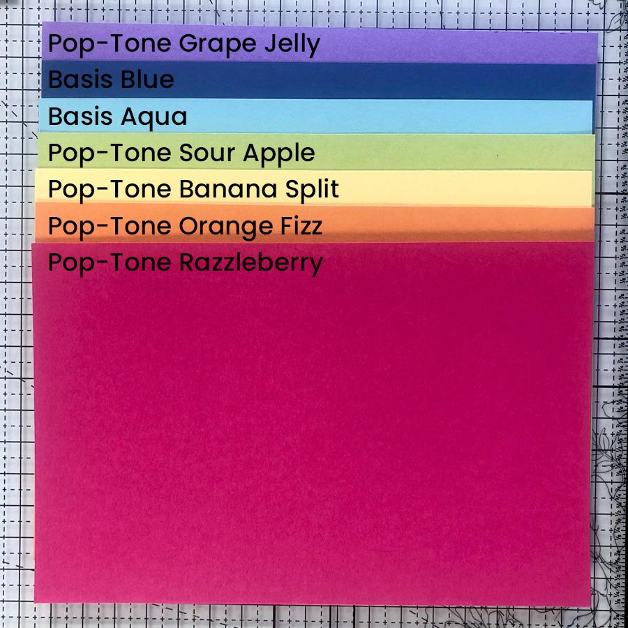 Pop-Tone & Basis Cardstock