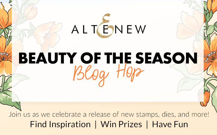 Altenew Beauty of the Season Blog Hop