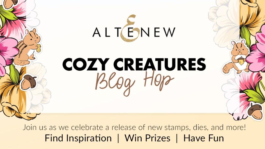 Altenew Cozy Creatures Blog Hop