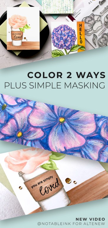 How To Color 2 Ways + Simple Masking