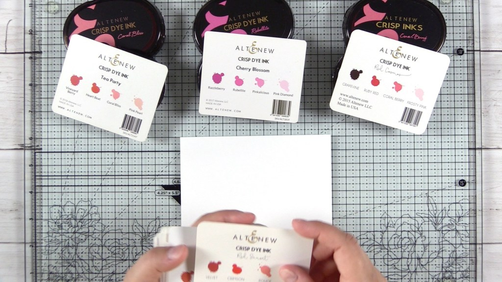 Combine color families | Mix layer stamp inks