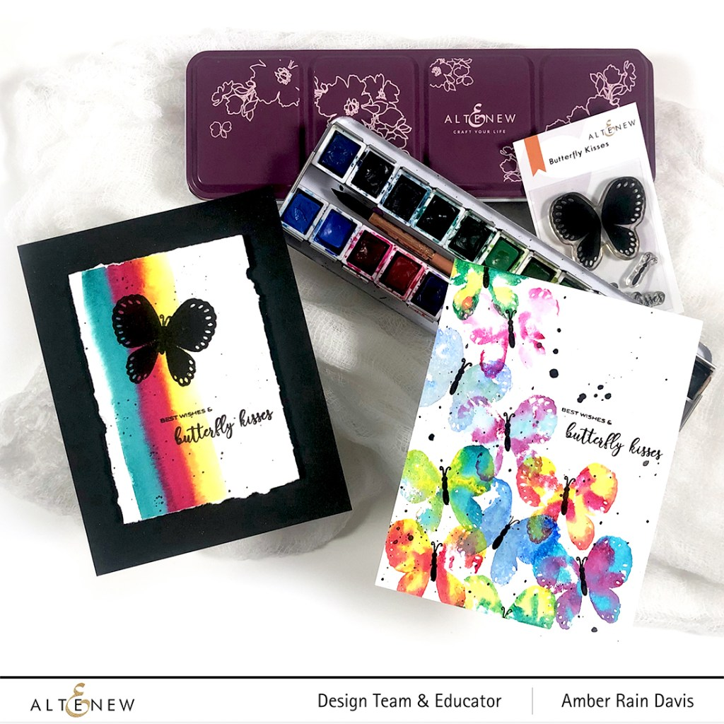 Altenew Butterfly Kisses Stamp Set