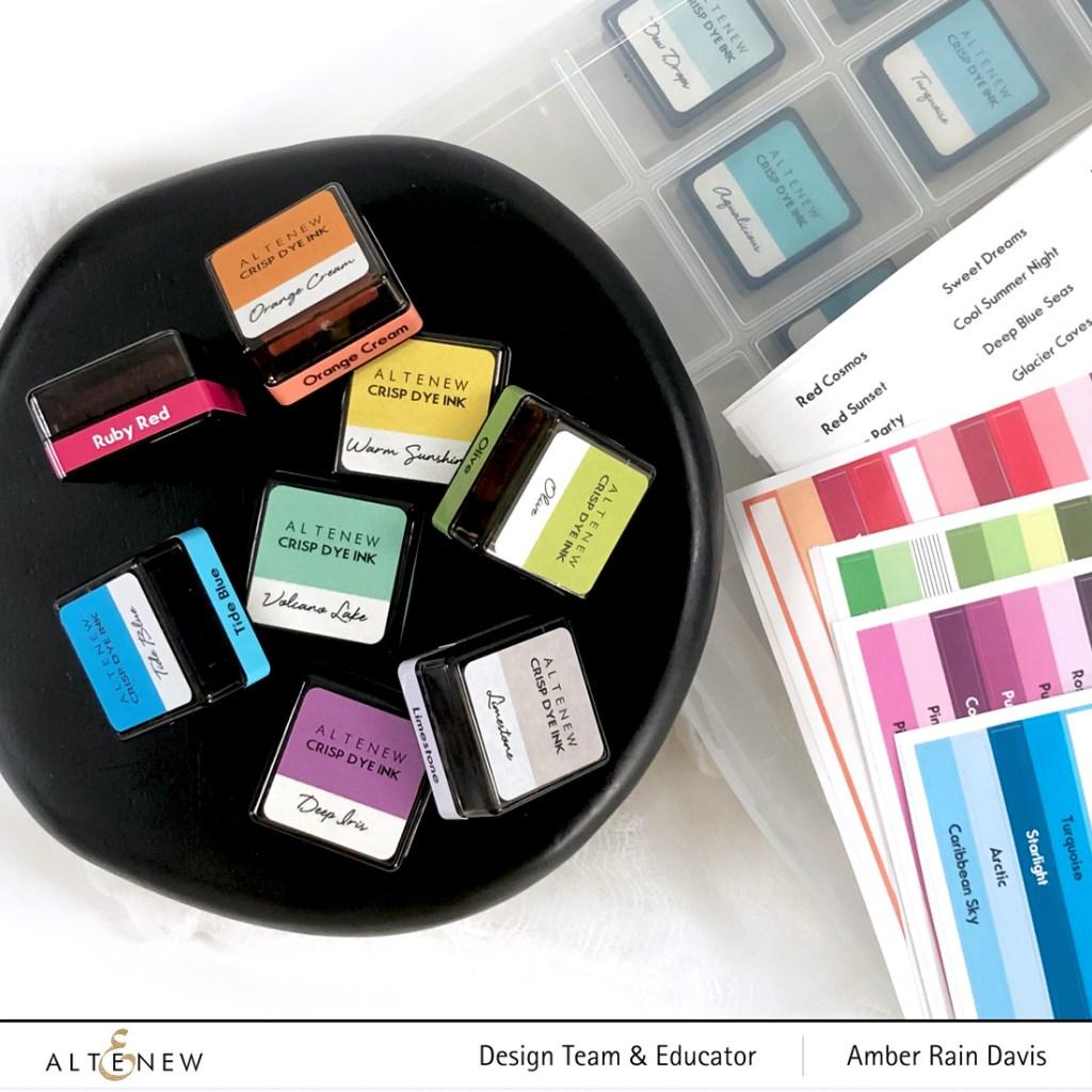 Altenew Mini Ink Cube Label Decals