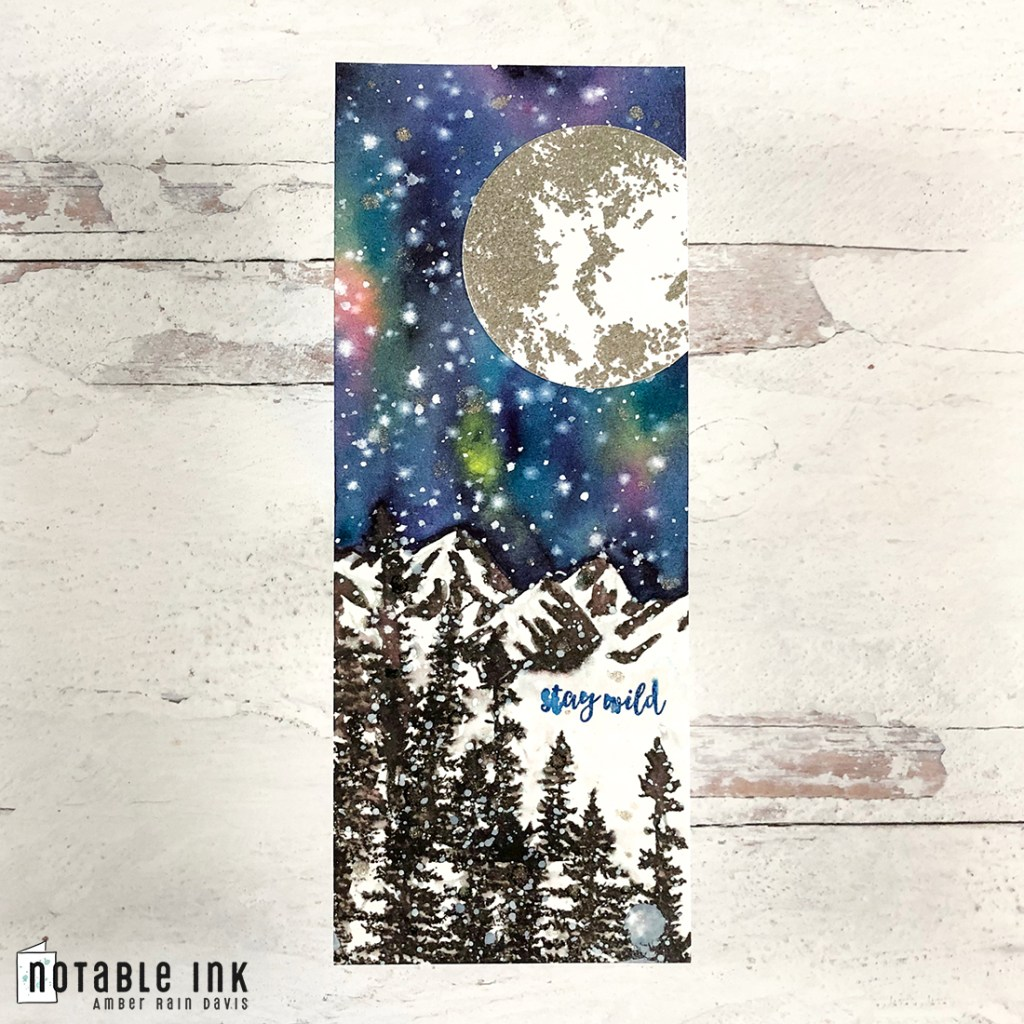 How To Paint Watercolor Galaxy with Daniel Smith watercolor