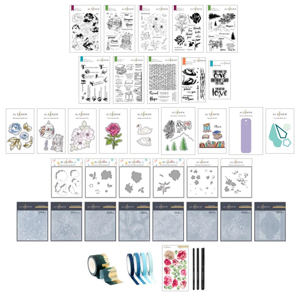 Altenew Storybook Fantasy Release
