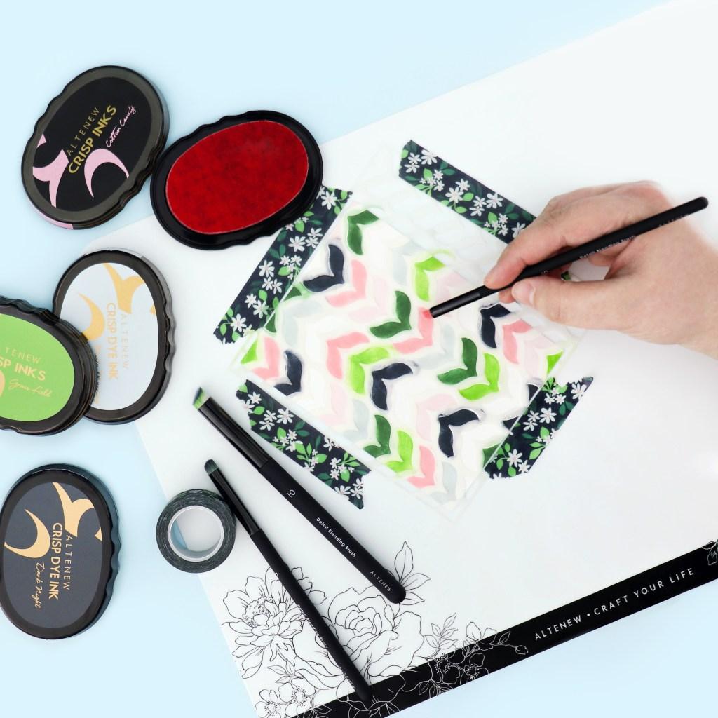 Altenew Storybook Fantasy Detail Blending Brushes