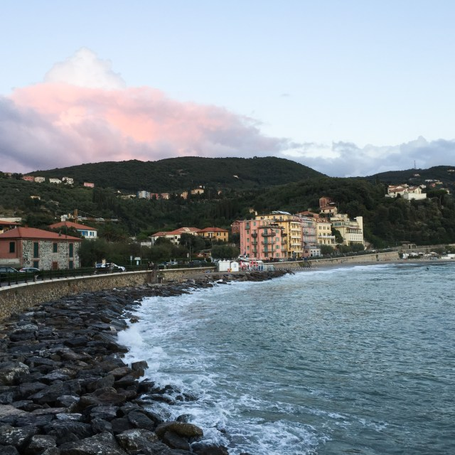 The waterfront walk between Lerici and San Terenzo