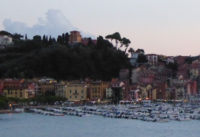 View of Lerici from the waterfront walk between Lerici and San Terenzo