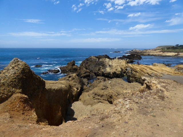 Views of the Pacific Ocean from Point Lobos State Reserve