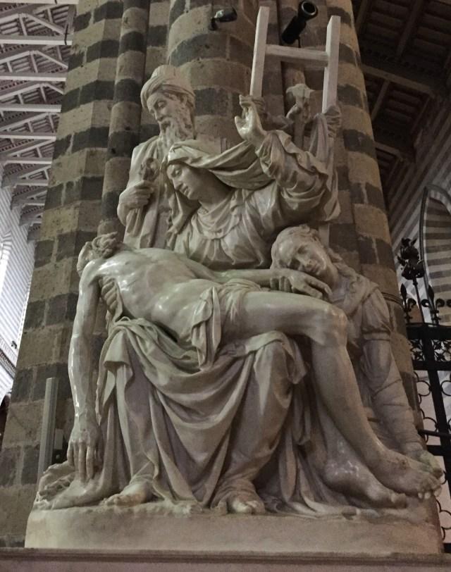 Pieta by Ippolito Scalza Duomo di Orvieto