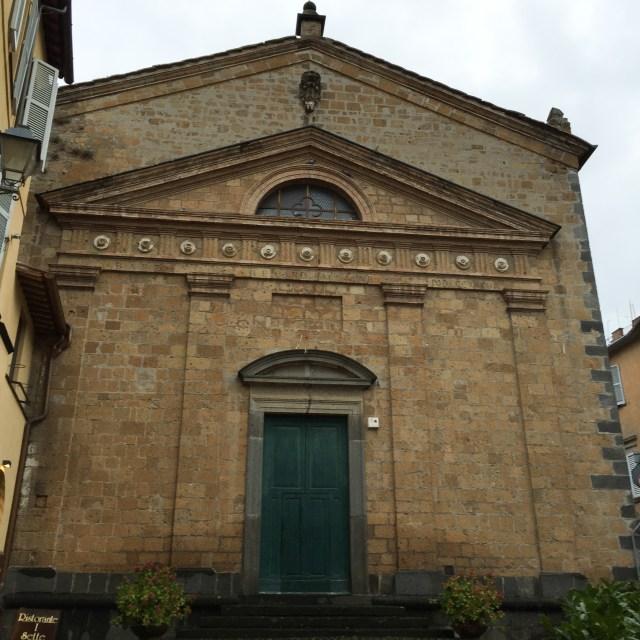 Chiesa di Sant Agelo Orvieto Italy