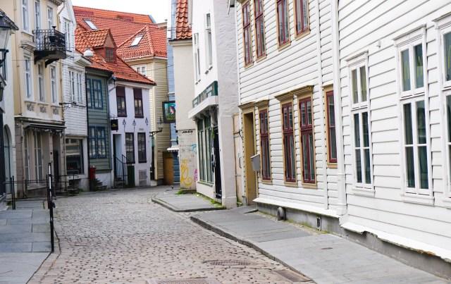 Old houses in Bergen Norway