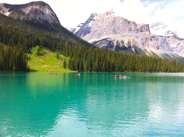 Emerald Lake Yoho National Park BC Canada