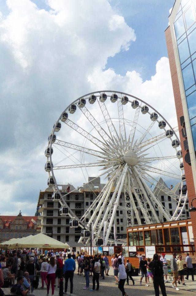 The Amber Eye Ferris Wheel Gdansk Poland