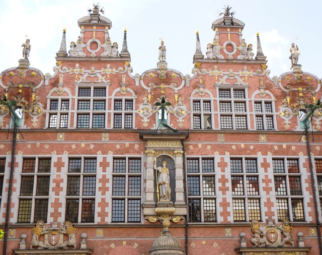 Great Armoury Old Town Gdansk Poland
