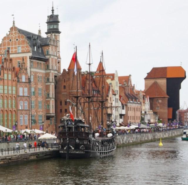 Zuraw, the treadwheel crane of Gdansk Old Town