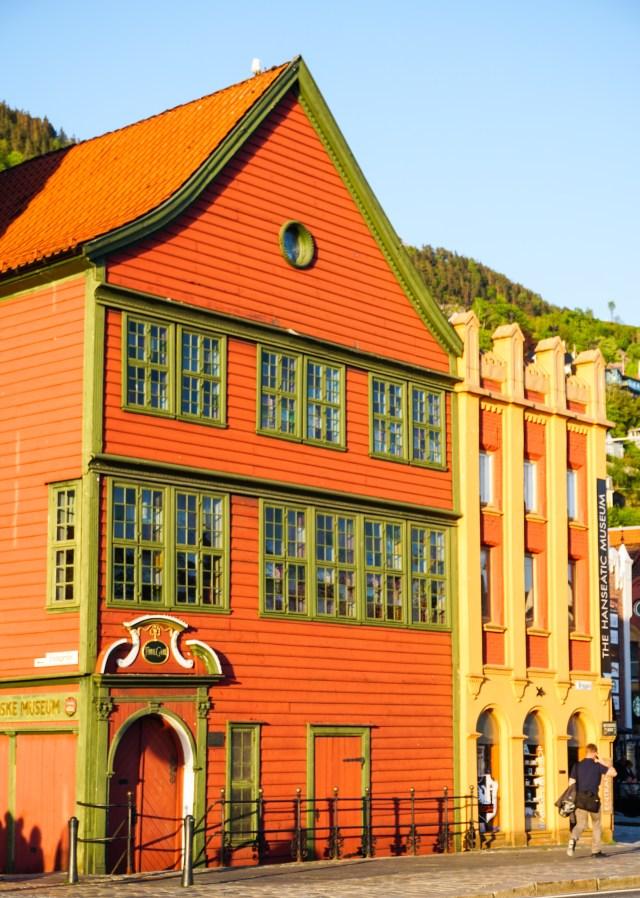 The Hanseatic Museum in Bergen Norway