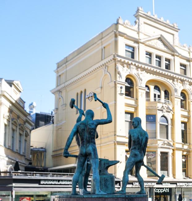 The Three Blacksmiths Helsinki Finland