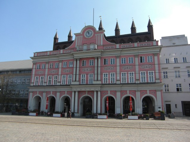 Town Hall, Rostock, Germany