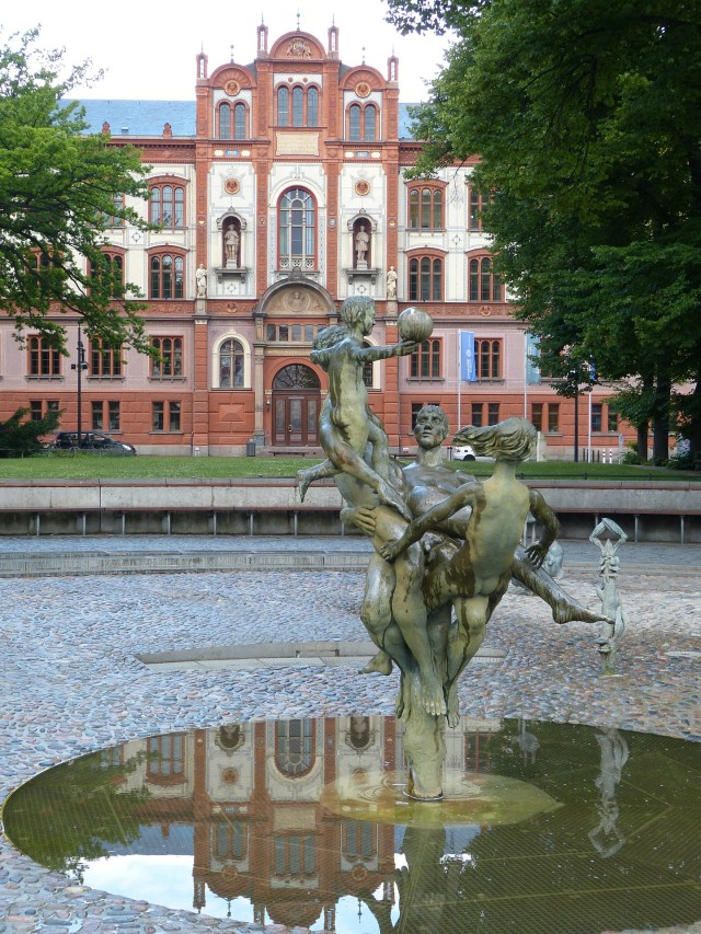 The University of Rostock Building should be on your list for your one day in Rostock