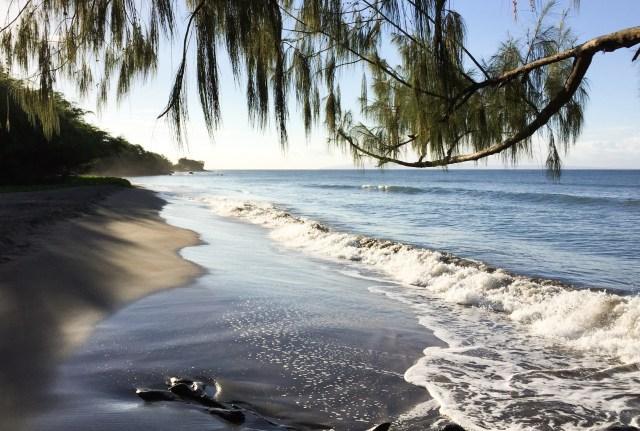An early mornig beach walk in Maui Hawaii