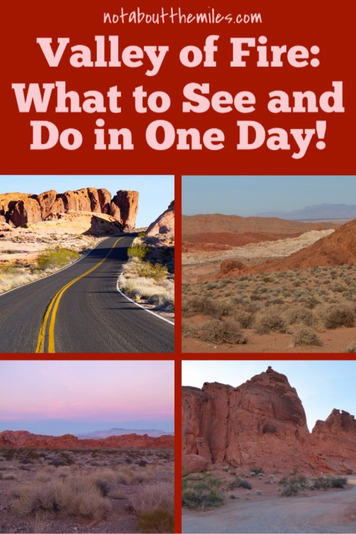 Valley of Fire makes for a fabulous day trip from Las Vegas, Click to discover what to see and do in one day at Valley of Fire!