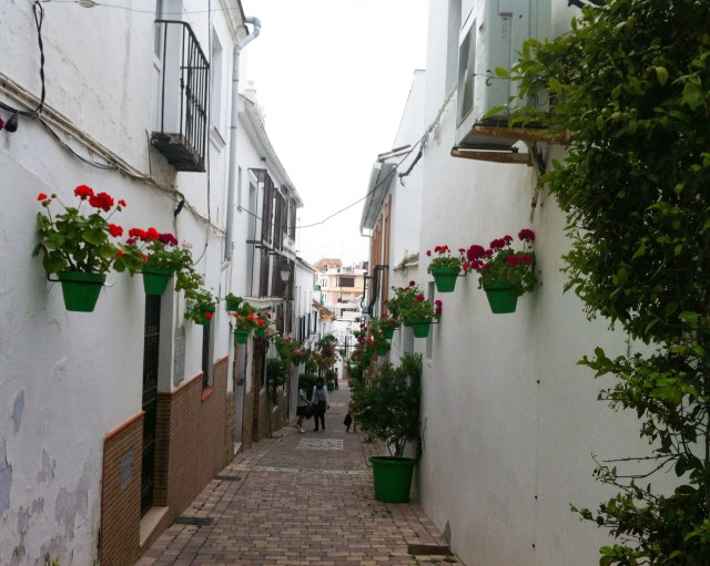 Street in the old town, Estepona, Spain