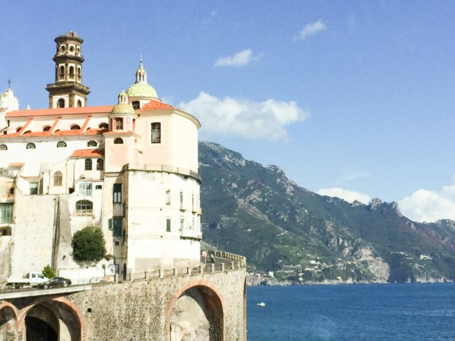 Atrani on the Amalfi Coast of Italy