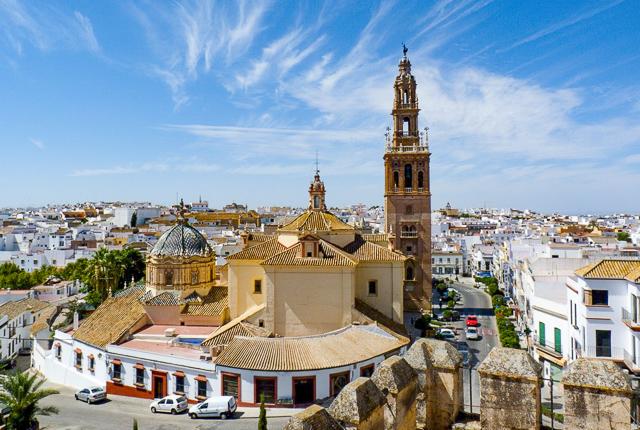 Alcazar de Puerta de Sevilla in Carmona Spain
