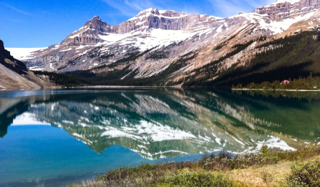 Bow Lake Icefields Parkway Alberta Canada