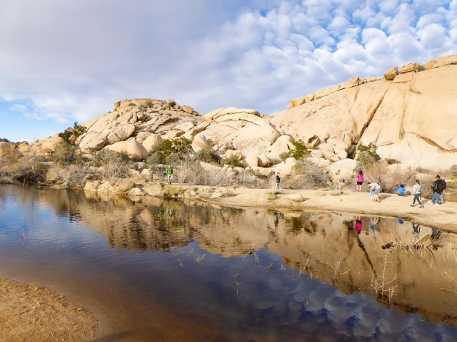 Barker Dam, Joshua Tree National Park, California, USA